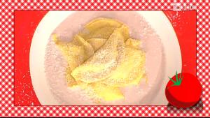 ravioli con salsa di mortadella