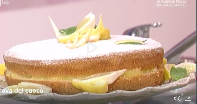 torta a limone di anna